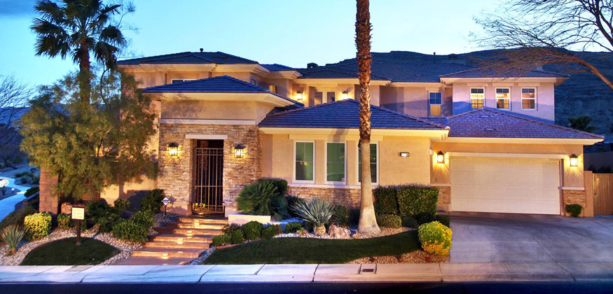 Red rock country club homes for sale in las vegas for Las vegas dream homes