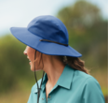 Women can't afford to be caught in the sun without a hat, so our Crusher has UPF 50+ protection built-in to shield sensitive skin as well as an extra wide brim to keep them shaded from harmful rays.