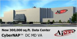 AiNET CyberNAP. 300,000 sq.ft. data center for DC, MD, VA