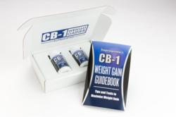 CB-1 Weight Gainer is a great product because it can be used for men and women alike and for clients of any age group. The supplement comes as a pill that is both easy to swallow and flavorless. According to the CB-1 Weight Gainer website, you can also pull the capsule apart and pour the ingredients inside into your favorite food or drink.