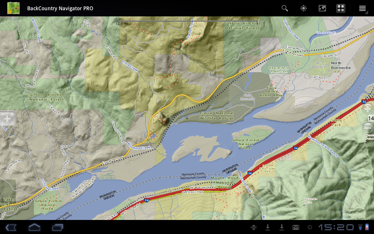 BackCountry Navigator Brings AccuTerra Topo Maps To An Android GPS App - Us topo maps app android