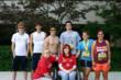 Katie Rennie's group of runners