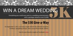 $5K Dream Wedding Sponsored by Premium Entertainment Wedding DJs