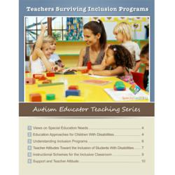 Special Learning Autism Educator Teaching Series