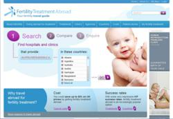 Fertility Treatment Abroad Web site
