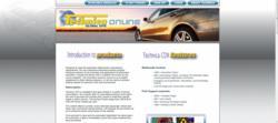 www.technica-online.com homepage.