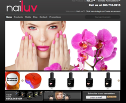 The newly-launched Nailuv Gel Polish Website is designed to cater to the needs of nail technicians, nail salon/spa owners, and nail fashion-lovers out there