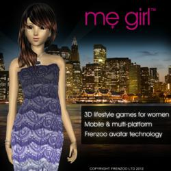 MeGirl Free Games for Girls and Women by Frenzoo