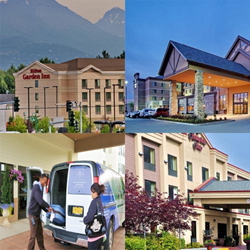 Hampton Inn, Embassy Suites, Hilton Garden Inn & Homewood Suites Hotels Anchorage