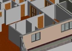 New healthcare development modelled in Revit Architecture