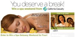 Nurse spa sweepstakes from California Casualty