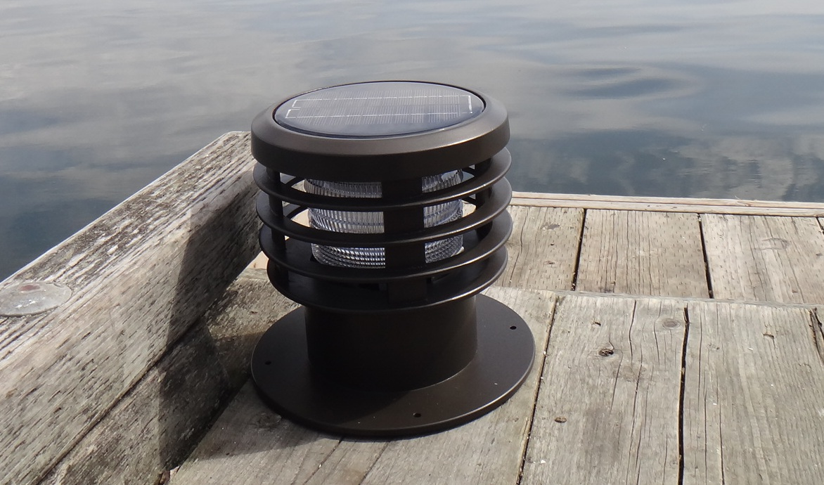 Solar Bollard Lighting Part - 28: WLB SERIES SOLAR LED BOLLARDDock Day ...