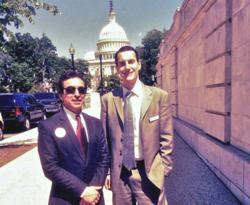 Chris Weaver and Dan Christensen at Congressional Visits Day