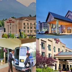 Hampton Inn, Embassy Suites, Hilton Garden Inn & Homewood Suites Hotels Anchorage