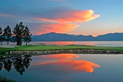 Sunset at Edgewood Tahoe Golf Course