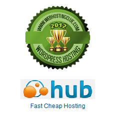 2012 Best WordPress Hosting - WebHostingHub