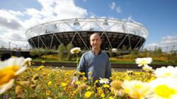 Olympic Stadium wildflower meadows sown to flower gold this summer