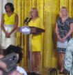 Military1Click's Jennifer Pilcher, Held Honor of Introducing The First Lady at a White House Event Celebrating Military Moms