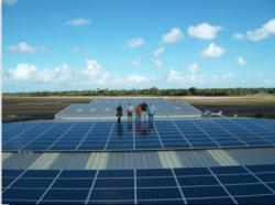 Peak Solar Installers at Stuart Jet Center