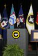 "David H. Petraeus, retired Army General and current Director of the Central Intelligence Agency, delivers acceptance remarks after being presented with the Command and General Staff College Foundation's ""Distinguished Leadership Award"" for 2012."