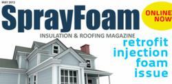 spray foam insulation and roofing magazine injection foam issue retrofit sprayfoam.com ryan spencer managing editor