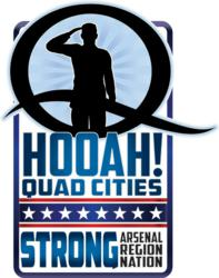 Hooah! Quad Cities Logo