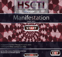 Manifestation Basic 2012 Radionics Software