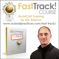 New ArchiCAD Video Training - The FastTrack! Course - by Eric Bobrow