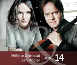 Helene Grimaud and Jan Vogler - Wolf Conservation Center Gala 2012