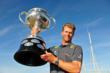 Robert Scheidt with his Trophy