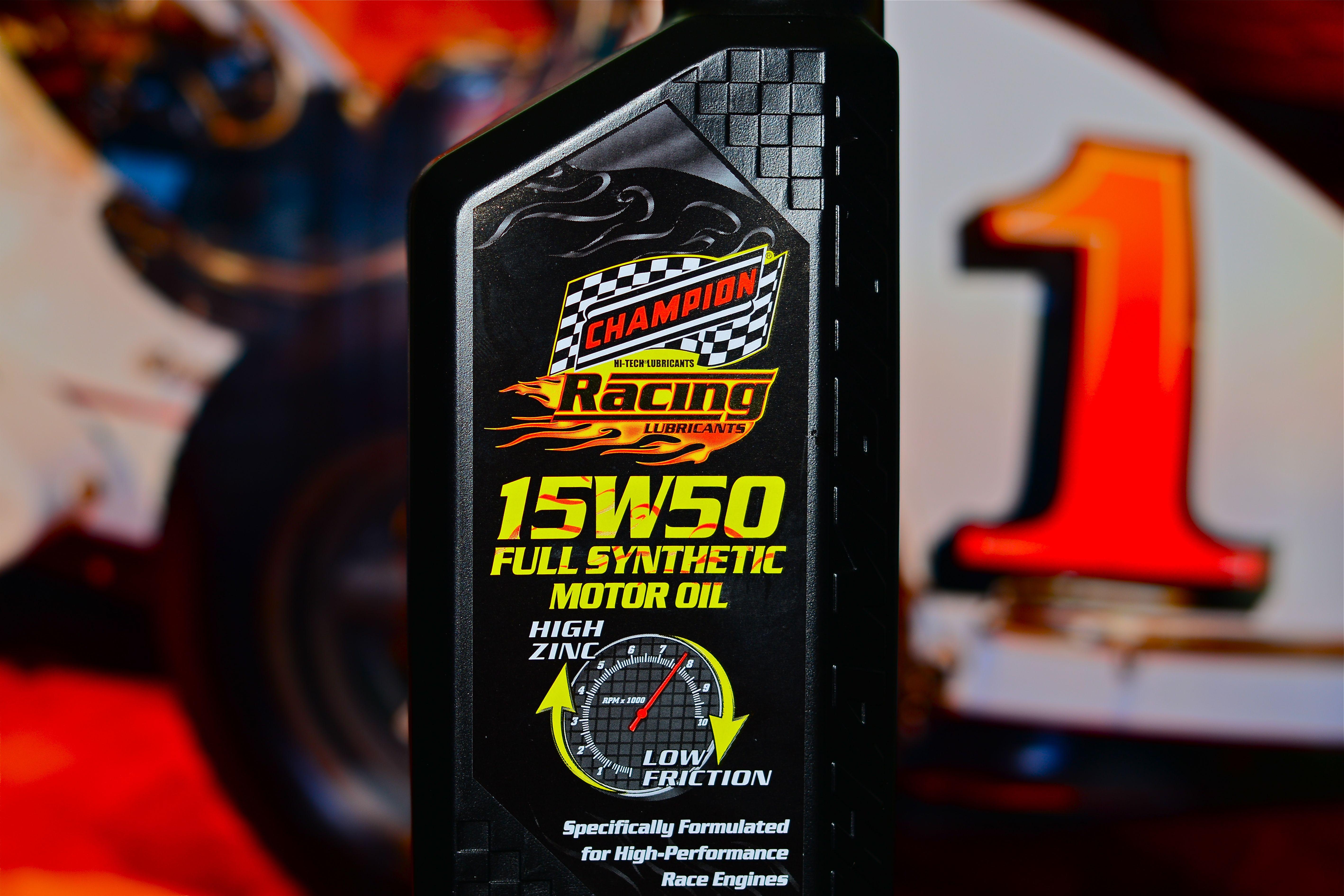 Brett Hearn Wins Again Using Champion Racing Oil
