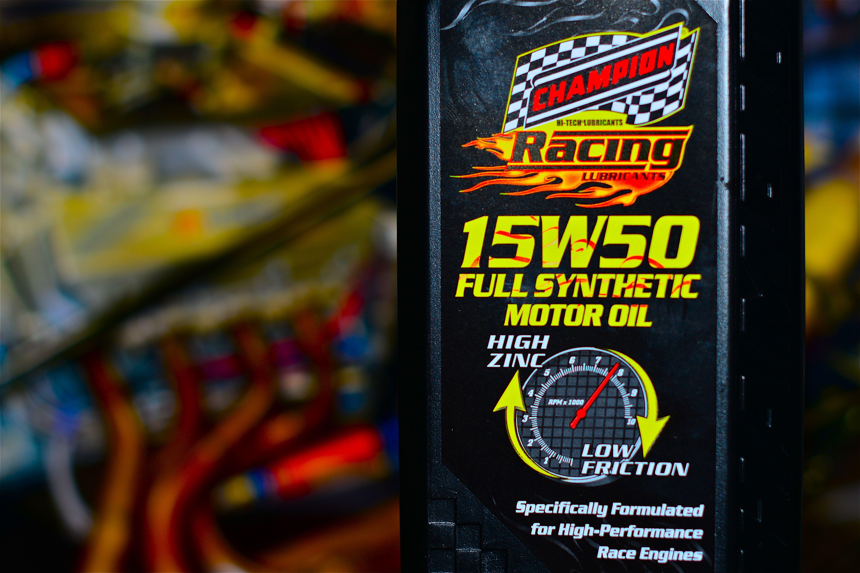 Champion Racing Oil Posts A Bodacious Facebook Milestone