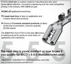 ETCO 5-5-5 Advertisement