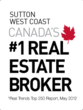 Sutton West Coast, Real Trends Top 250, Canada's #1 Real Estate Broker