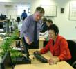 Graham Smith, Marketing Director at SCi Sales Group, with Baroness Sarah Ludford, MEP for London