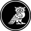 Pratorio's Logo - Minerva Owl, Guardian of the Acropolis and Goddess Athena. Pratorio's Logo for Personal Security.