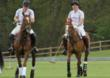 Prince William &amp; Prince Harry Playing Polo