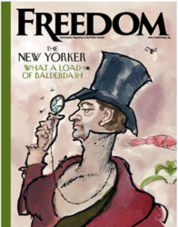 Freedom Magazine, the human rights journal of the Church of Scientology, was awarded a Religion Communicators Council (RCC) DeRose-Hinkhouse Memorial Award of Excellence for its Special Report on The New Yorker.