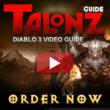 Talonz Diablo 3 Guide Offers the Best Package for Diablo 3 Leveling...