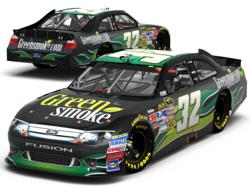 Green Smoke Sponsors TJ Bell in the Sprint Cup Series Coca Cola 600