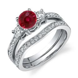 Diamond Engagement Rings and Bridal Sets at Finetresor.com