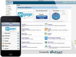 MICROS eCommerce Engage, powered by OnFast