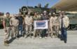 'Sons of Anarchy's' Ron Perlman, Theo Rossi and Dayton Callie Drop in on Marines and their Families Stationed in California on USO Tour