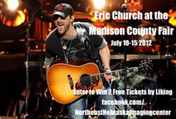 Enter to Win 2 Free Eric Church Concert Tickets