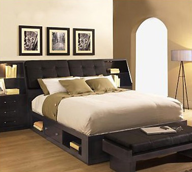 Modern Headboard With Storage | Bill House Plans