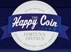 The Happy Coin is now live online as your premier Rare Coin Dealer