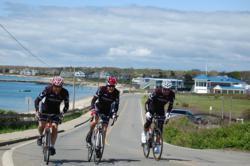 Beaumont Solar Cycling Team at Coalition for Buzzards Bay Race in 2011