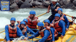 Whitewater rafting the Kicking Horse River in the BC Rockies - an hour from Banff & Lake Louise