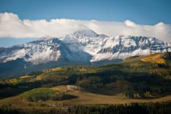 San Juan Mountains and lumiere telluride