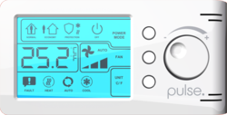 Pulse communicating smart thermostat reference design